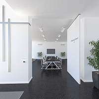 Taurus Terazzo Dark | Switzerland - Bern, Private office